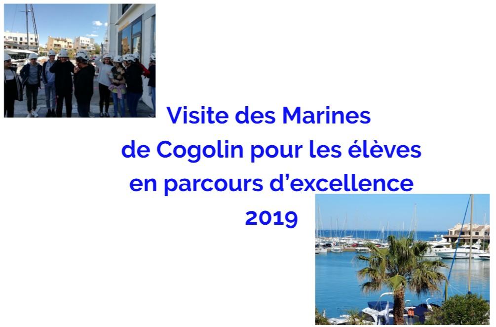 Visite des Marines de Cogolin le 4 avril 2019