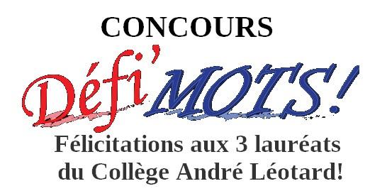 """Concours """"Défi mots"""""""