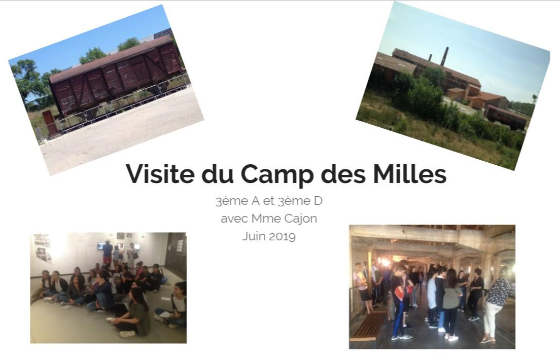 Visite du Camp des Milles