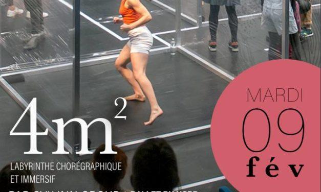"""Spectacle """"4m2"""": un labyrinthe chorégraphique et immersif au Collège André Léotard le mardi 9 février"""